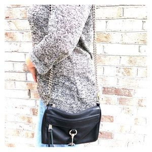 Rebecca Minkoff mini mac crossbody black